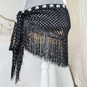 NWOT - Bellydance hip scarf / belt with sequins